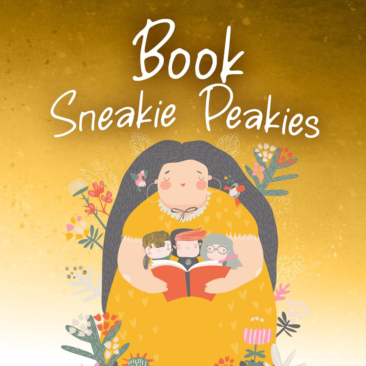 Book Sneakie Peakies