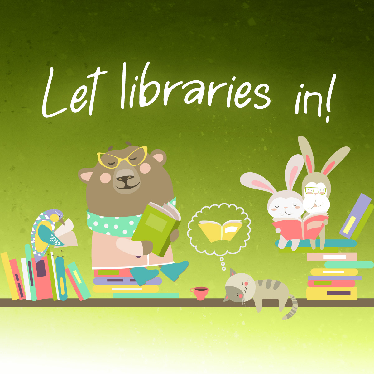 Let Libraries In