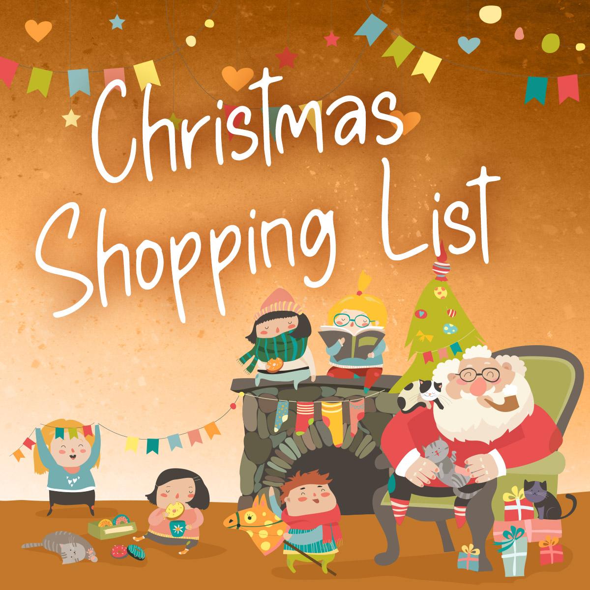 Christmas Book Shopping List For Children