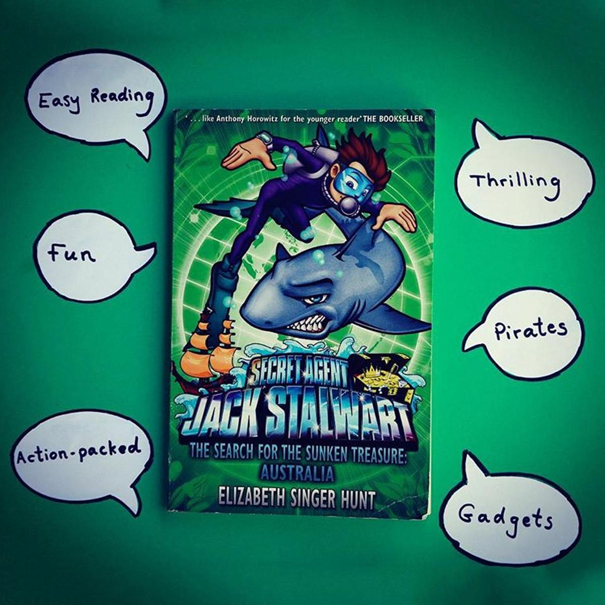 Jack Stalwart Kids Book