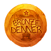 Bronze Denner Badge