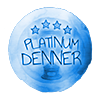 Platinum Denner Badge