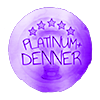 Platinum Plus Denner Badge